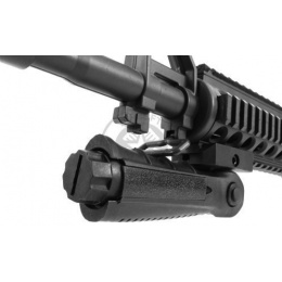 AIM Sports Ergonomic Airsoft Folding Foregrip w/ Pressure Pad Housing