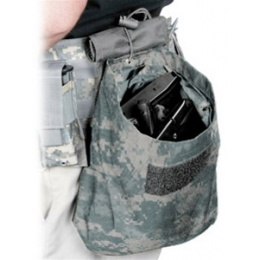 VISM MOLLE Tactical Folding Dump Pouch - ACU