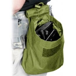 VISM MOLLE Tactical Folding Dump Pouch - OD