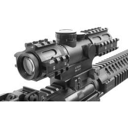 NcStar 2-7x32 Illuminated Full Metal Tactical 3-Rail Sighting System