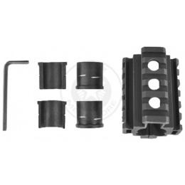 AIM Sports M4 / M16 Full Metal Front Sight Tri-Rail Barrel Mount