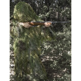 Rothco Lightweight All Purpose Woodland Ghillie Suit - Medium/ Large