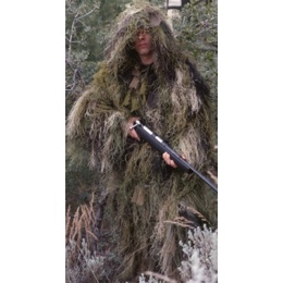 Rothco Ultra Lightweight Long Woodland Ghillie Suit Jacket - XL/XXL