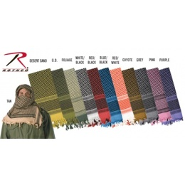 Rothco Tactical Multi-Purpose Shemagh Scarf - TAN