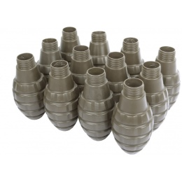 Hakkotsu Airsoft Thunder B CO2 Pineapple Grenades Pack w/ 12 Shells