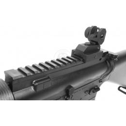 AMS-SRC Stryke Series SR15 CQC Carbine AEG Airsoft Rifle - BLACK
