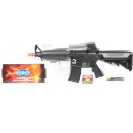 AMS-SRC Stryke Series SR15 MK18 Carbine M4 AEG Airsoft Rifle - BLACK