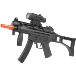 WellFire Airsoft Mod 5 PDW AEG w/ Foregrip and Mock Sight Package