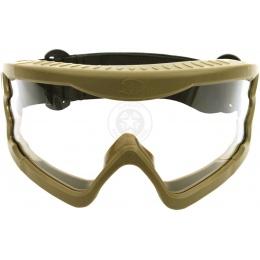 Hakkotsu X-Eye HD Wide-View Tactical Goggles - FOLIAGE GREEN