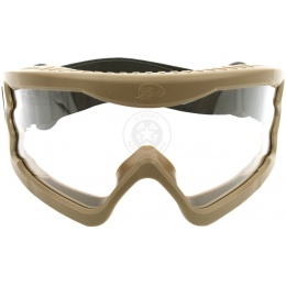 Hakkotsu X-Eye HD Wide-View Tactical Goggles - TAN
