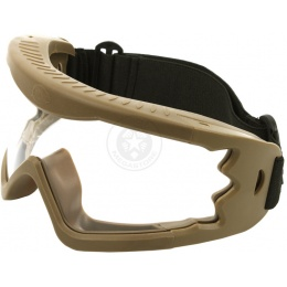 Hakkotsu X-Eye HD Wide-View Tactical Goggles - TAN