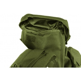 AMA 36-Inch 600D Rifle Case Backpack - OD GREEN