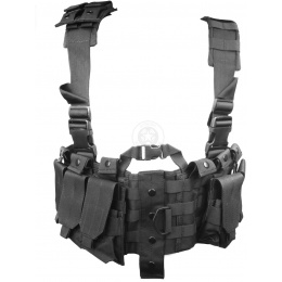 AMA Airsoft Modular Lightweight Chest Rig - BLACK
