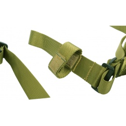 AMA OpSpec 3-Point Adjustable QD Rifle Sling - OD GREEN