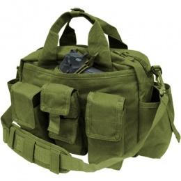 Condor Outdoor: Tactical Response Bag w/ Universal Holster - OD