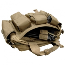 Condor Outdoor: Tactical Response Bag w/ Universal Holster - TAN