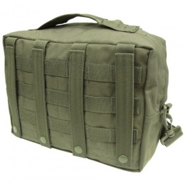 Condor Outdoor MOLLE Utility Shoulder Bag w/ Removable Strap - OD