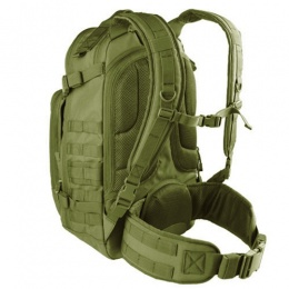 Condor Outdoor MOLLE Backpack w/ Internal Padded Laptop Sleeve - OD