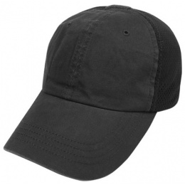 Condor Outdoor: Tactical Team Mesh Operator Cap - BLACK