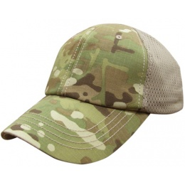 Condor Outdoor: Tactical Team Mesh Operator Cap - Genuine Multicam