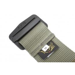 Flyye Industries Tactical Nylon BDU Belt - RANGER GREEN