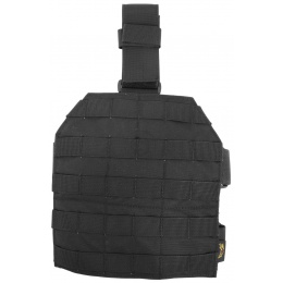 Flyye Industries Drop Leg MOLLE Panel - BLACK