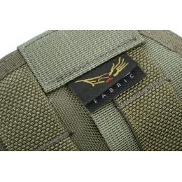 Flyye Industries Tactical Drop Leg MOLLE Pistol Holster - Ranger Green