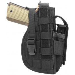 Flyye Industries MOLLE 1911 Pistol Holster  (Right Handed) - BLACK