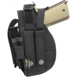 Flyye Industries MOLLE 1911 Pistol Holster  (Right Handed) - BLACK