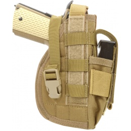 Flyye Industries Airsoft 1911 Right Pistol Holster - COYOTE BROWN