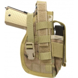 Flyye Industries Tactical MOLLE 1911 Pistol Holster - GENUINE MULTICAM