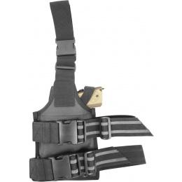Flyye Industries Spec-Ops MOLLE Drop Leg Pistol Holster - BLACK