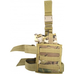 Flyye Industries Spec-Ops MOLLE Drop Leg Pistol Holster - MULTICAM