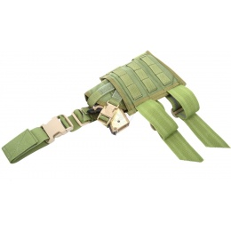 Flyye Industries Spec-Ops MOLLE Drop Leg Pistol Holster - OD