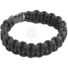 Flyye Industries Mil-Spec Paracord Survival Bracelet - BLACK