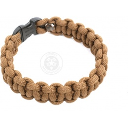 Flyye Industries Mil-Spec Paracord Survival Bracelet - COYOTE BROWN