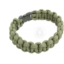 Flyye Industries Mil-Spec Paracord Survival Bracelet w/ QD Buckle - OD