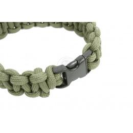 Flyye Industries Mil-Spec Paracord Survival Bracelet w/ QD Buckle - OD