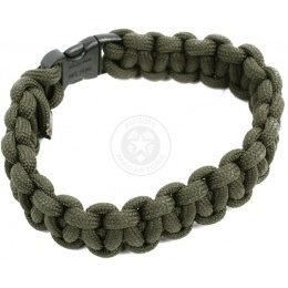 Flyye Industries Mil-Spec Paracord Survival Bracelet - RANGER GREEN