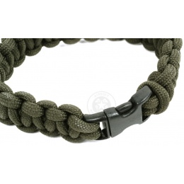 Flyye Industries Mil-Spec Paracord Survival Bracelet - RANGER GREEN