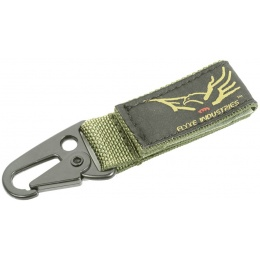 Flyye Industries Single Point Key Chain w/ Hook & Loop Strap - OD