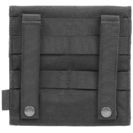 Flyye Industries Soft Hook & Loop MOLLE Admin Panel - BLACK