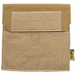 Flyye Industries Soft Hook & Loop MOLLE Admin Panel - Coyote Brown