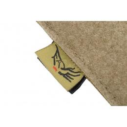 Flyye Industries Soft Hook & Loop MOLLE Admin Panel - Coyote Brown