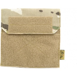Flyye Industries Soft Hook & Loop MOLLE Admin Panel - Genuine Multicam