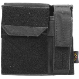 Flyye Industries MOLLE Admin Panel w/ Pistol Mag Pouch - BLACK