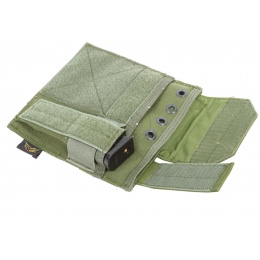 Flyye Industries MOLLE Admin Panel w/ Pistol Mag Pouch - OD