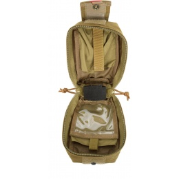 Flyye Industries MOLLE Spec Ops Thin Utility Pouch - Coyote Brown