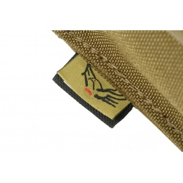 Flyye Industries MOLLE 40mm Grenade Shell Pouch - Coyote Brown