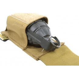 Flyye Industries MOLLE Flash Bang Grenade Pouch - Coyote Brown